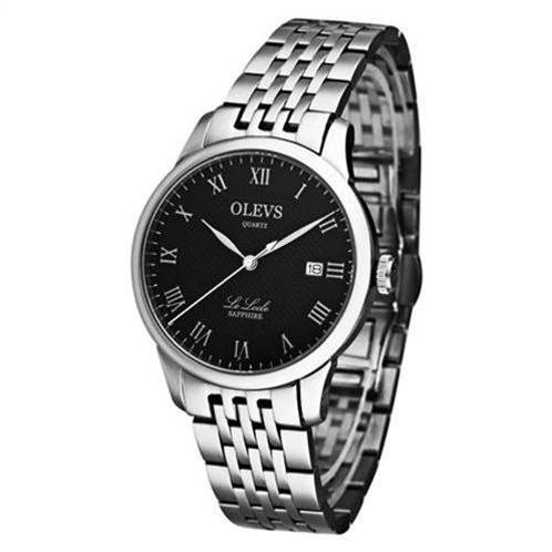 Đồng hồ nam Olevs Romantic L41 (Đen dây kim loại (N2))-OV0003-3