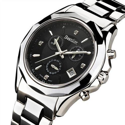 Đồng hồ cao cấp Bestdon Phong Cách Mạnh Mẽ (Mặt đen)-BD004-02