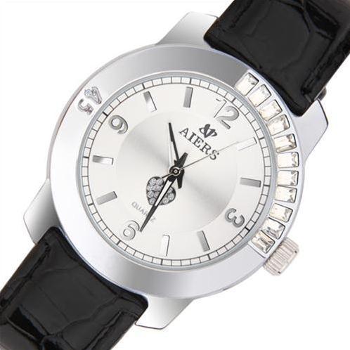 Đồng hồ nữ Aiers F127L chữ số to bản
