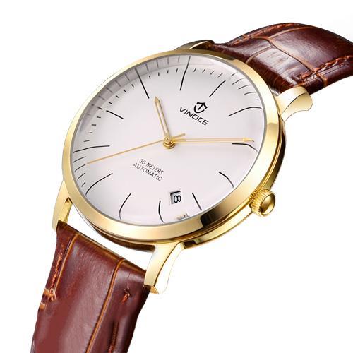 Đồng hồ nam Automatic Vinoce V633251 kim dạ quang