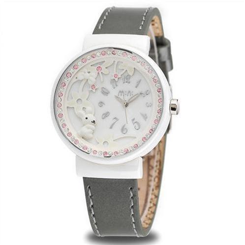 Đồng hồ nữ Mini Khu vườn của Thỏ
