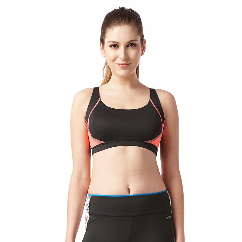 Áo bra tập gym cho nữ Zoano viền màu cá tính