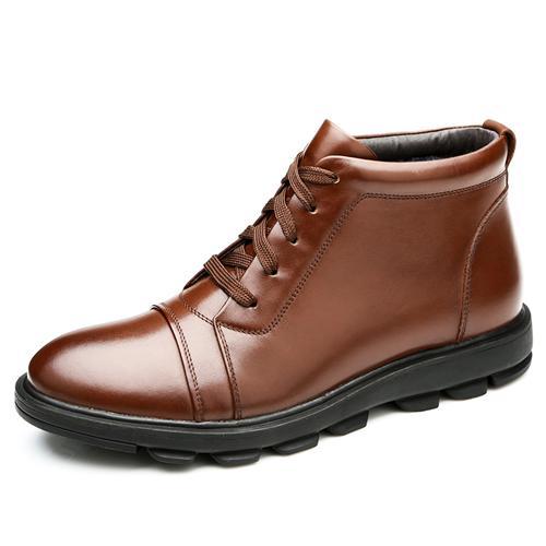 Giày nam cao cổ Olunpo WPH020 đế cao