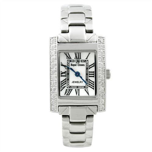 Đồng hồ nữ Royal Crown 6305 viền gắn đá pha lê