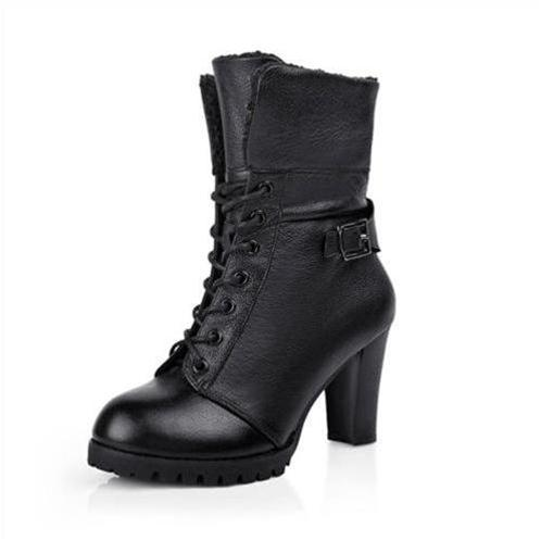 Giày bốt nữ thời trang YiYa YY1298