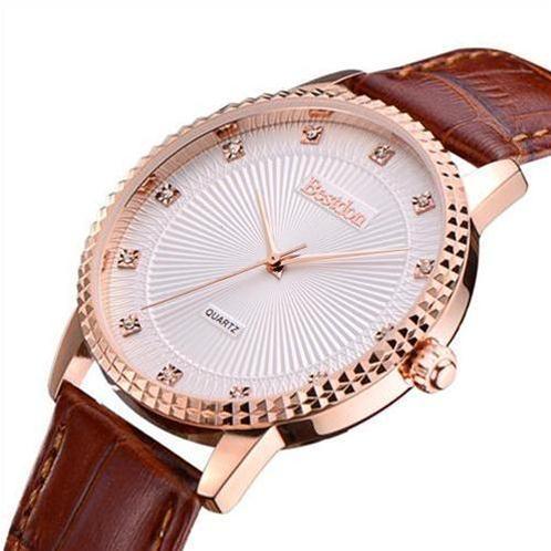Đồng hồ nam dây da Bestdon 9970G