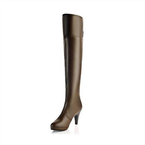 Giày boot nữ ống cao Yiya YY87759