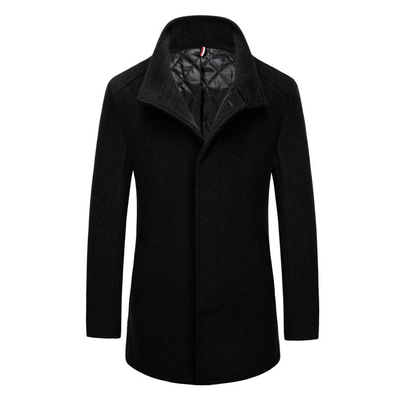 Áo khoác Top Coat dạ lông cừu Kadapo