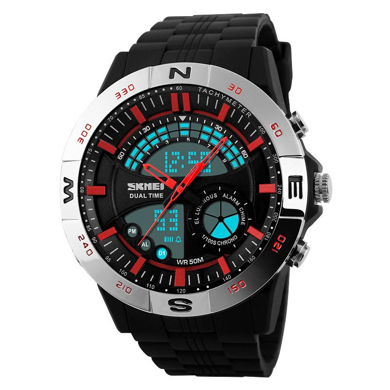 Đồng hồ điện tử nam phong cách thể thao Skmei 1110