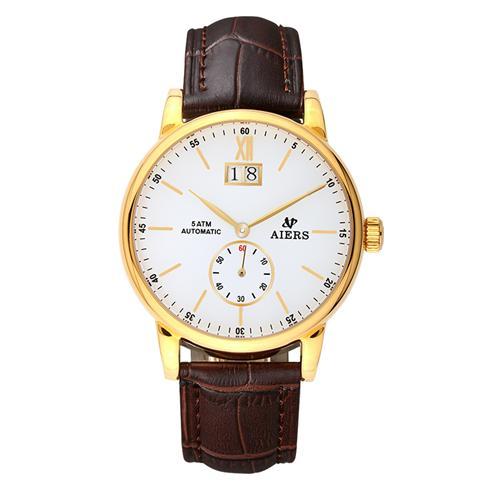 Đồng hồ cơ automatic nam Aiers B163G