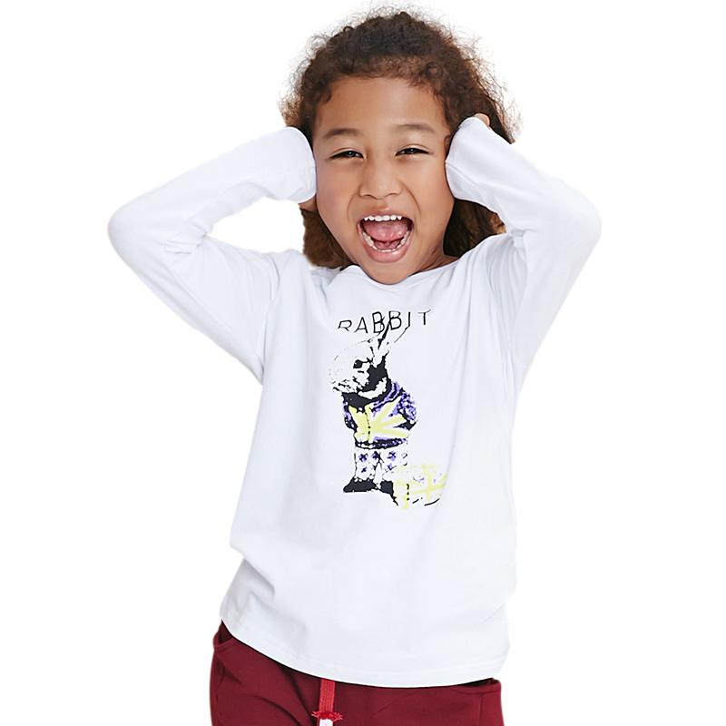 Áo phông dài tay bé gái MYL họa tiết chibi