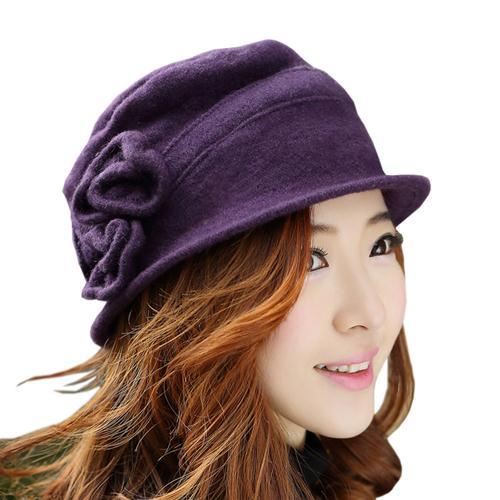 Mũ len nữ Dorain P018 - Mũ Bucket xu hướng hot