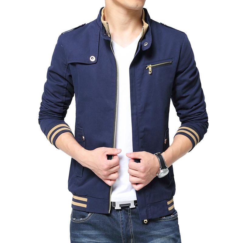 Áo Jacket nam GF cổ đứng phối màu