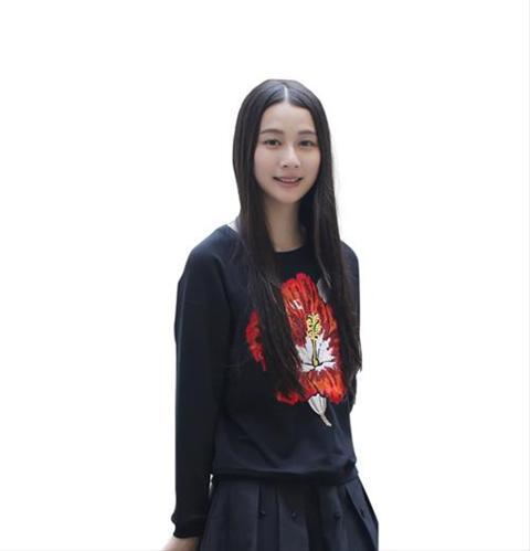 Áo sweatshirt nữ floral Xing-Y