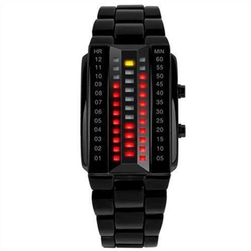 Đồng hồ điện tử đèn Led SKmei 1013 mặt chữ nhật