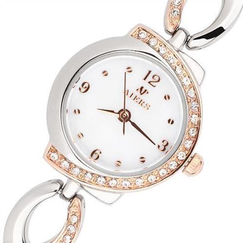 Đồng hồ nữ Aiers F116L mặt tròn