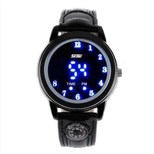 Đồng hồ điện tử đèn LED Retro Style