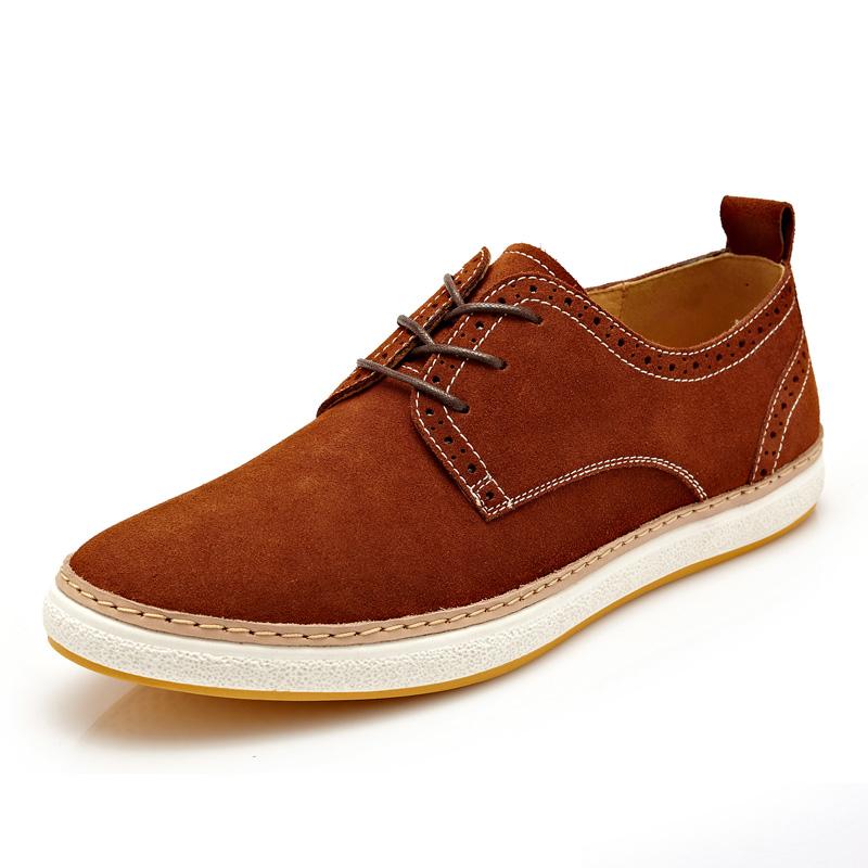Giày nam da lộn thời trang CDD 1015