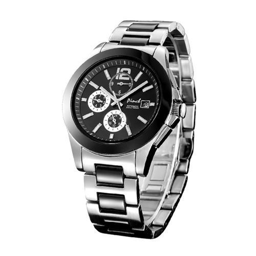 Đồng hồ cơ nam mặt 6 kim Pinch L8008