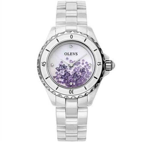 Đồng hồ nữ OLEVS Mộng Hồ Điệp L50 (Tím (N1))-OV00022-1