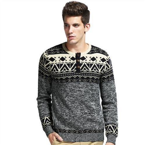 Áo len nam họa tiết phong cách Anh No1Dara