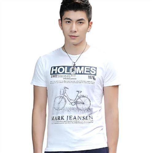 Áo T-shirt nam ngắn tay Sinhillze họa tiết xe đạp