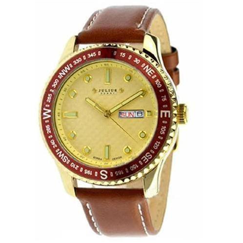 Đồng hồ nam Julius JAH041 viền la bàn độc đáo