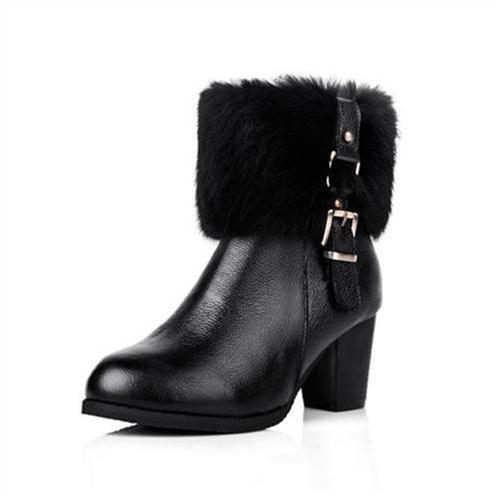 Giày bốt nữ thời trang YiYa YY60053