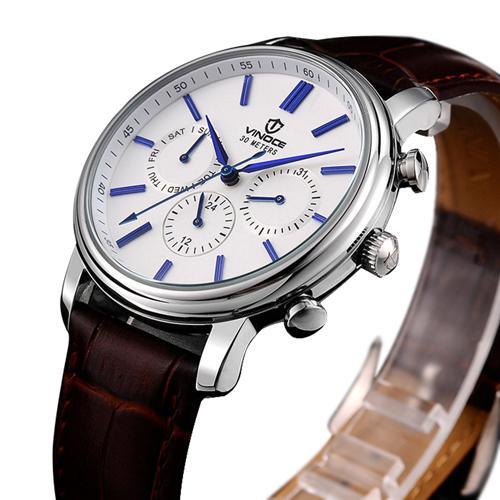 Đồng hồ nam đa chức năng Vinoce 8371G