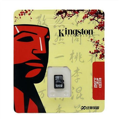 Thẻ nhớ Kingston 16GB class 10
