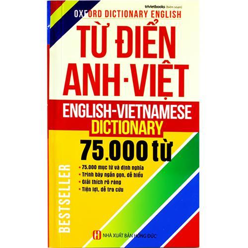 Từ điển Anh - Việt 75.000 từ