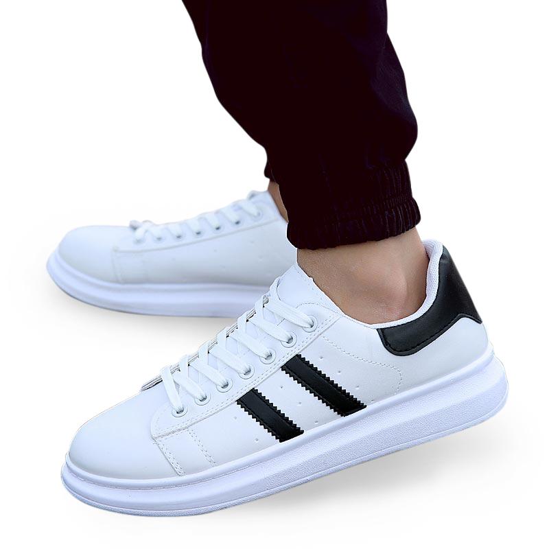 Giày sneaker nam sọc răng cưa Oubejargon