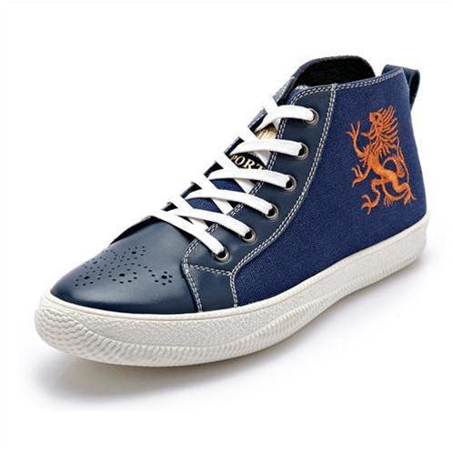 Giày vải nam CDD 1211 thêu hình rồng