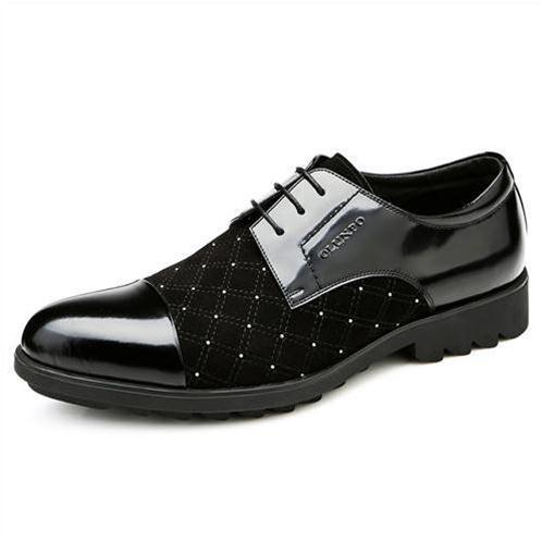 Giày nam Olunpo QHT1433 - Vì sao tỏa sáng