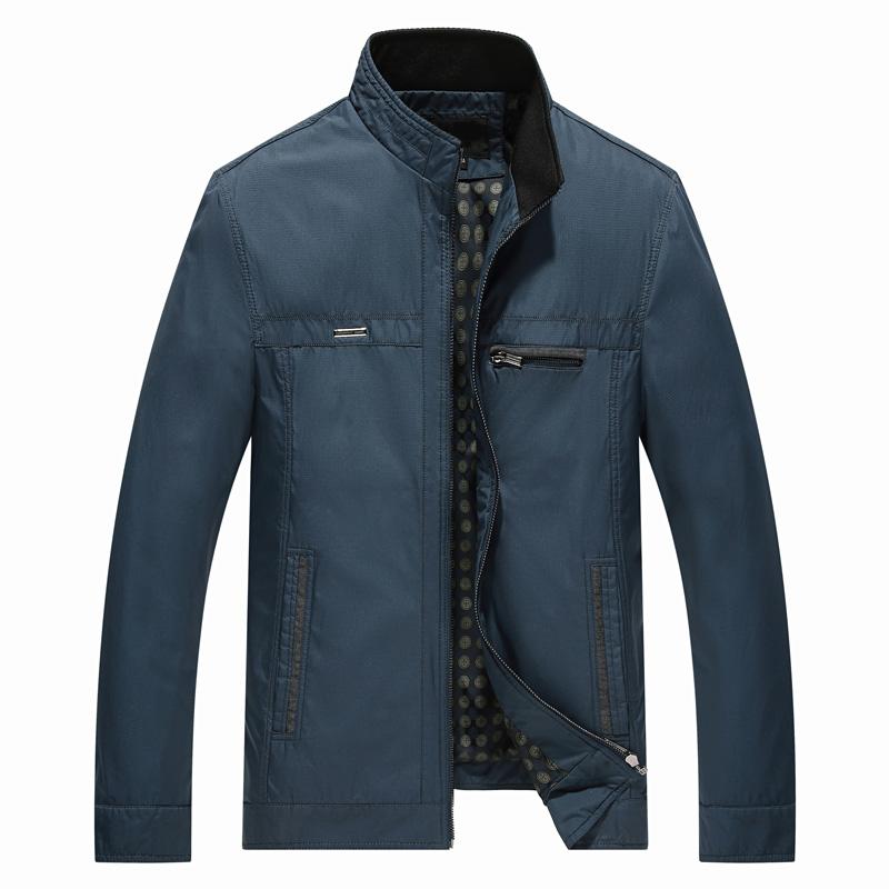Áo khoác Jacket nam thu đông Sunsus cổ đứng