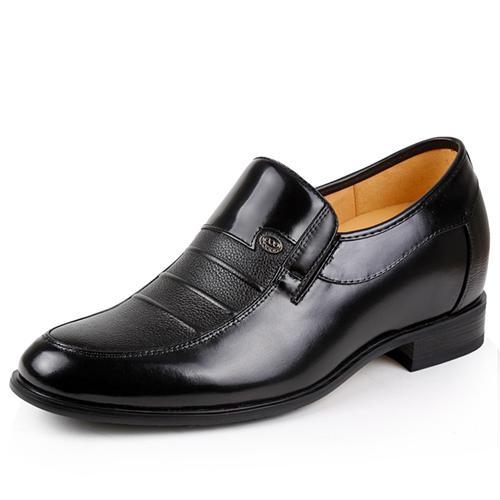 Giày nam cao GOG CP89802 bề mặt nhăn
