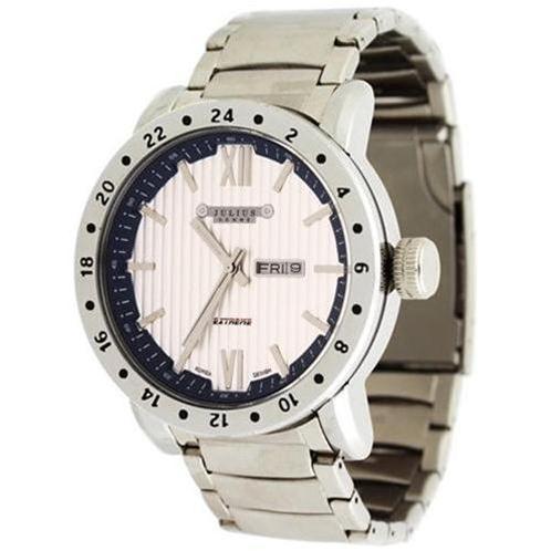 Đồng hồ nam Julius JAH047 màu bạc trang nhã