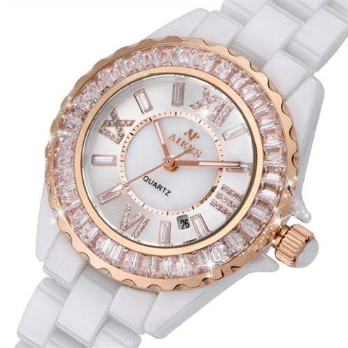 Đồng hồ nữ Aiers T131L dây gốm