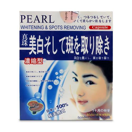 Viên nang trị nám tàn nhang Pearl Whitening & Spots Removing