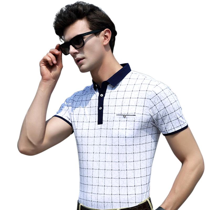 Áo T-shirt nam ngắn tay Sunsus họa tiết hình học