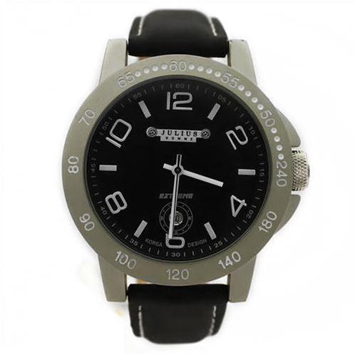 Đồng hồ nam Julius JAH-011 Mặt tròn sang trọng