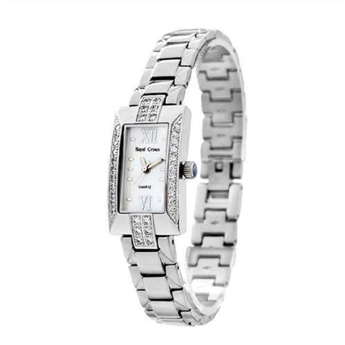 Đồng hồ nữ Royal Crown mặt chữ nhật