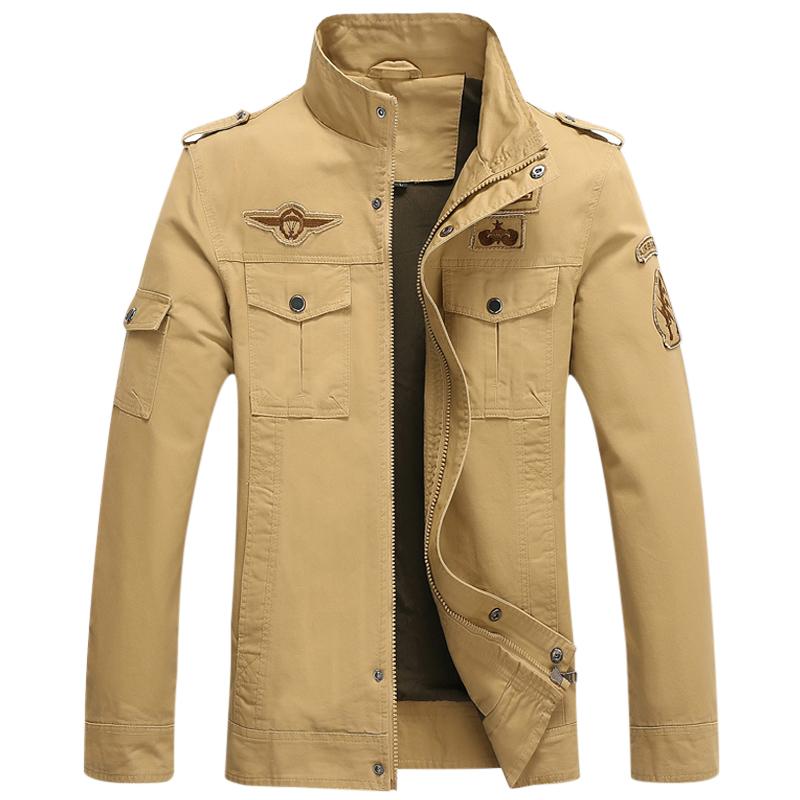 Áo khoác Jacket nam GF Style Quân đội