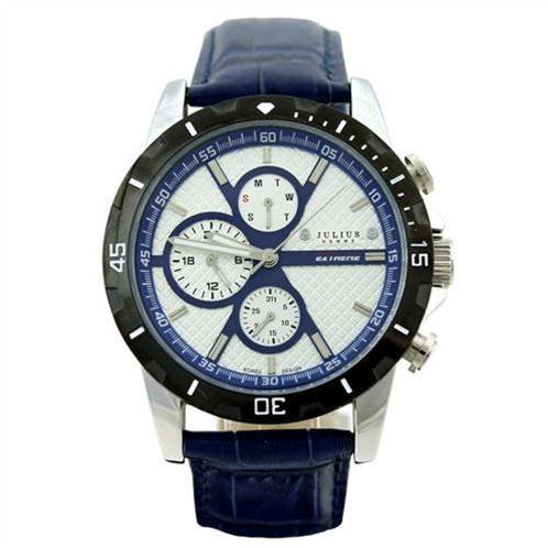 Đồng hồ nam Julius JAH-056 6 kim cá tính