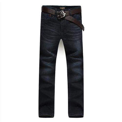 Quần jeans nam Lehondies ống đứng thời trang
