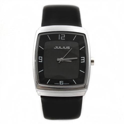 Đồng hồ nam Julius JA-591M mặt chữ nhật uốn cong