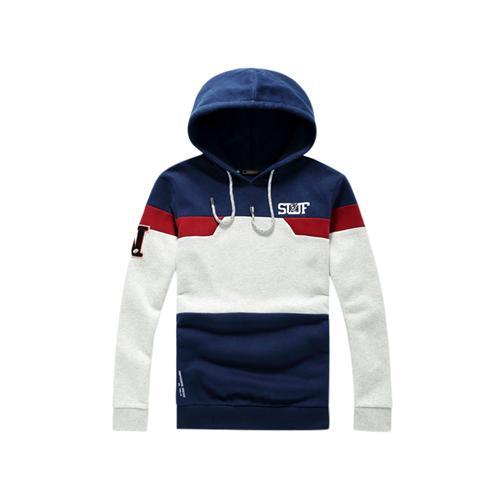 Áo hoodie nam phối màu ngang No1Dara