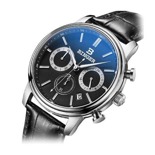 Đồng hồ nam Binger 6 kim