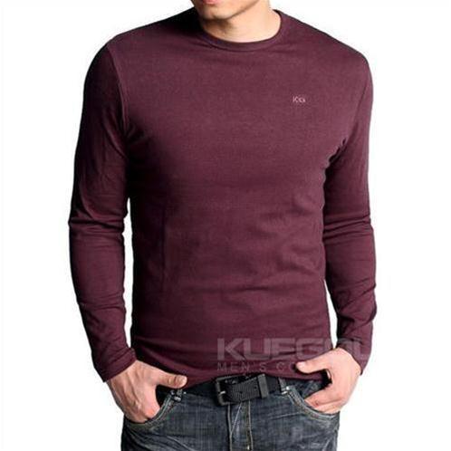Áo thun nam dài tay K-Jeans KT-801LD
