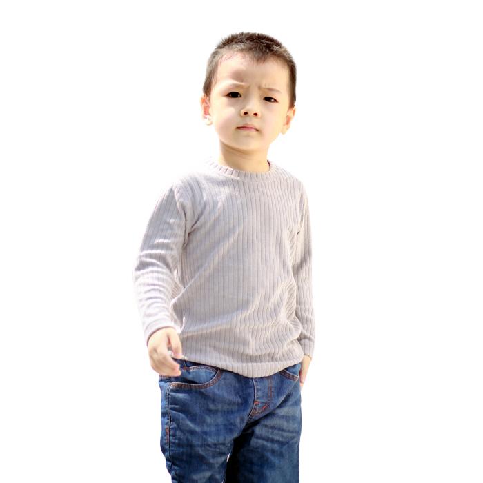 Áo giữ nhiệt cổ tròn dài tay bé trai Mika